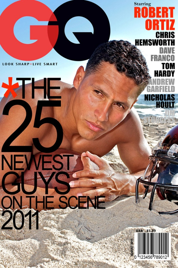 Robert Ortiz GQ Magazine Cover